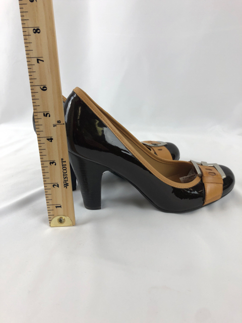 4343c07365 Gianni bini 7.5M Brown/Tan Shoes | Tongass Threads Consignment Store