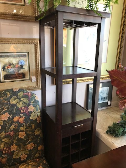 Crate Barrel Wine Rack Top Drawer