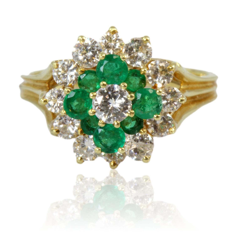 18K-Gold-.84ctw-Diamond--.44ctw-Emerald-Ring_90122A.jpg