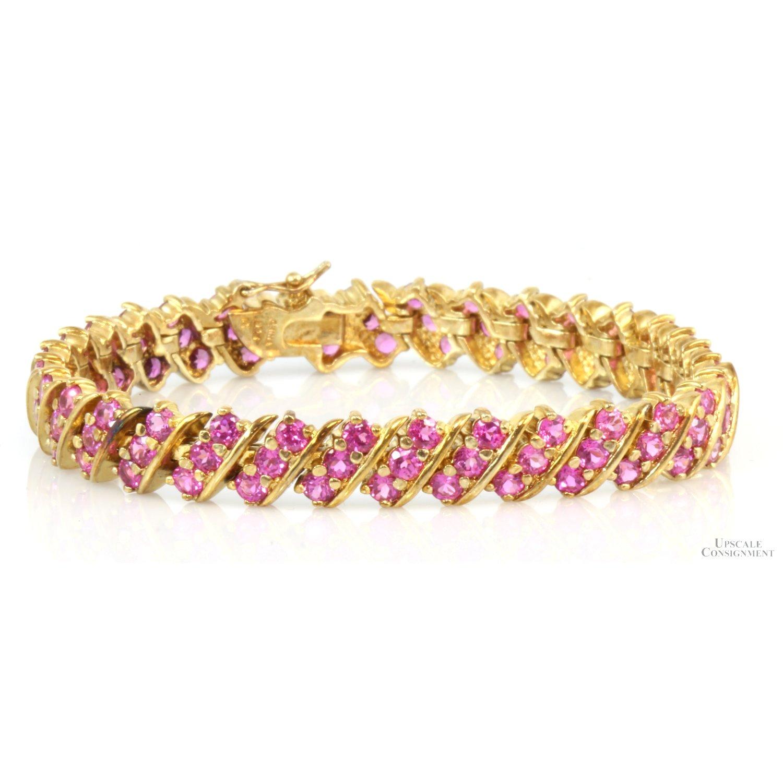 18K-Gold-Vermeil-13.44ctw-Pink-Sapphire-Link-Tennis--Bracelet_91657A.jpg