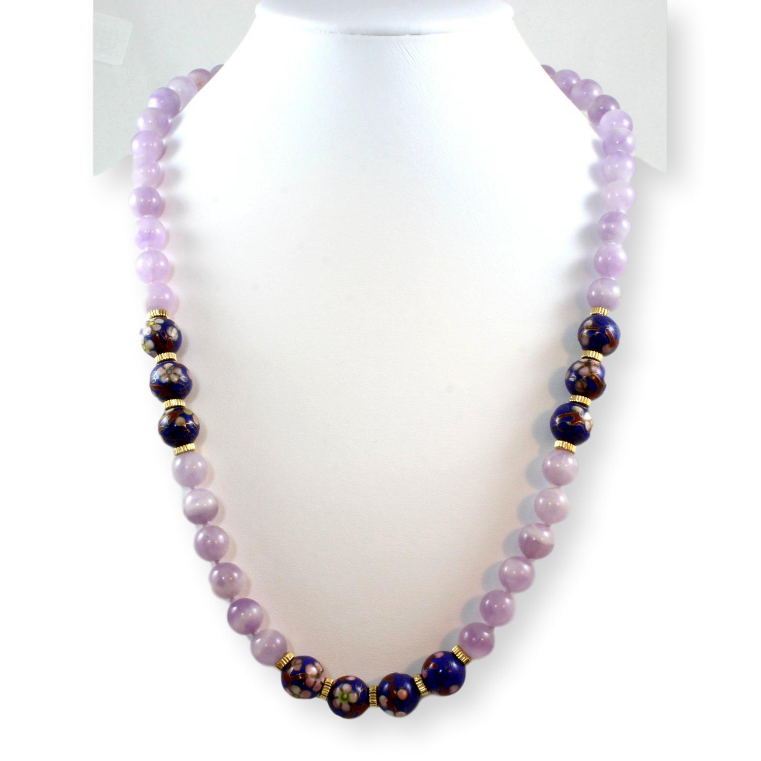 24-Amethyst--Blue-Cloisonne-Bead-Necklace-w14K-Gold-Spacers_86983A.jpg