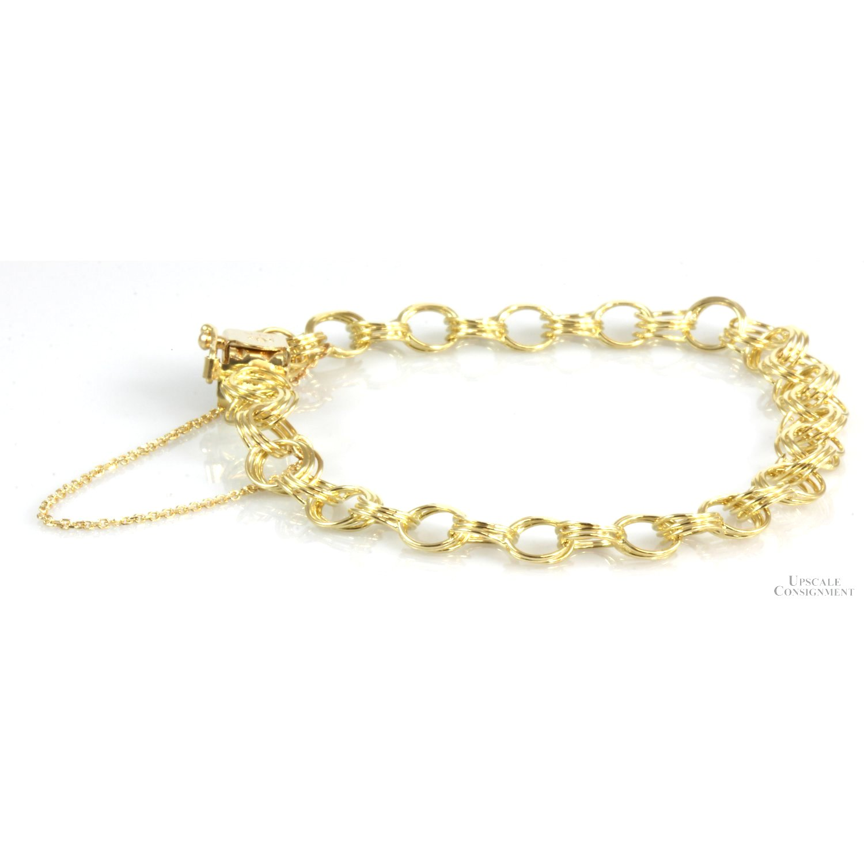 Bailey-Banks--Biddle-14K-Gold-Double-Link-Starter-Charm-Bracelet_92883A.jpg