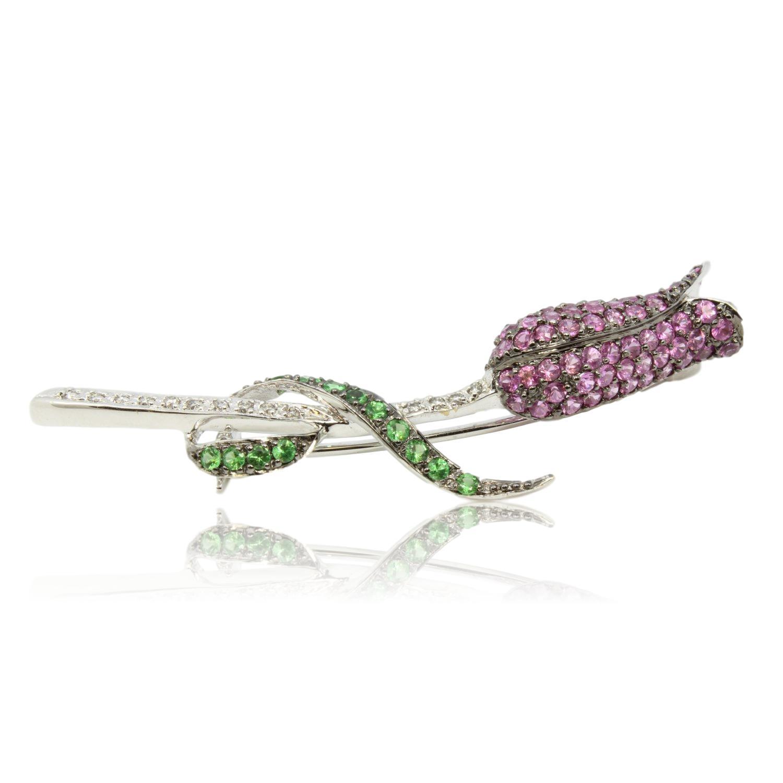William-Lam-Company-14K-Gold-Diamond-Pink-Sapphire--Tsavorite-Garnet--Brooch_80133A.jpg
