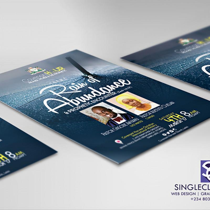 Poster/ E- Flyer  Design