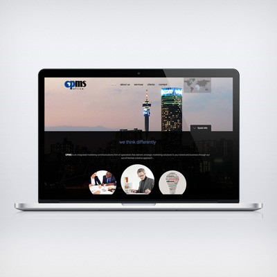 Website Design for CPMS Africa