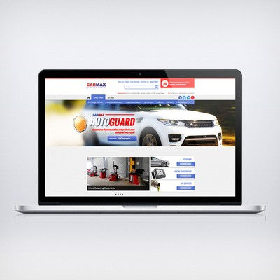 Carmax Nigeria Website Design