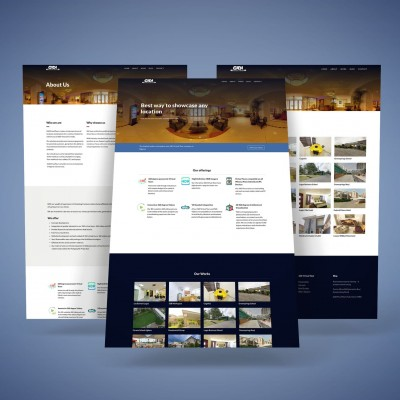 Gidivirtualtours Website Design