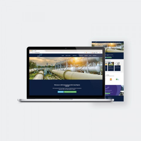 Qedi Nigeria Website Design