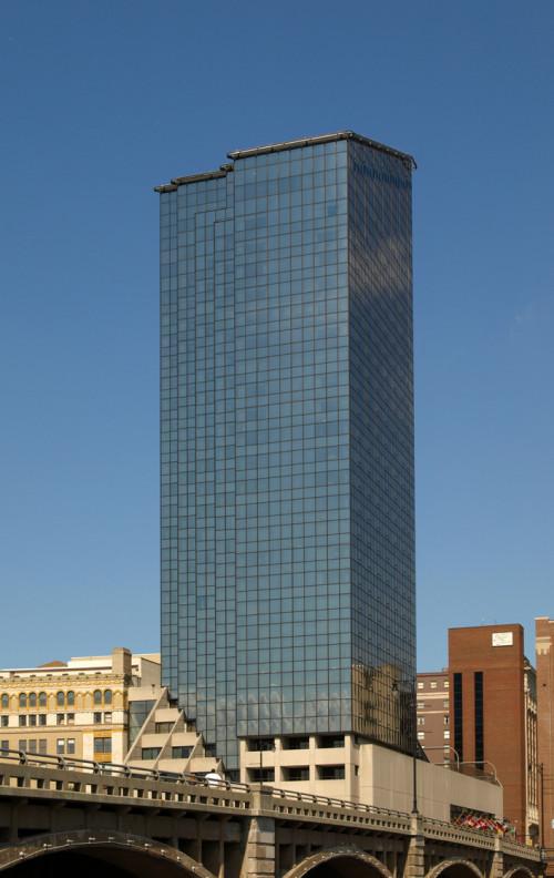 Amway Grand Plaza Hotel Glass Tower The Skyscraper Center