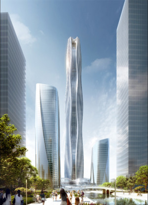 HeXi Yuzui Financial District