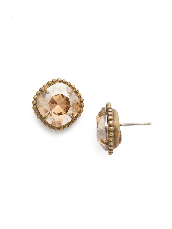 3e35de8e3 Cushion-Cut Solitaire Earring - Sorrelli Essentials in Dark ...