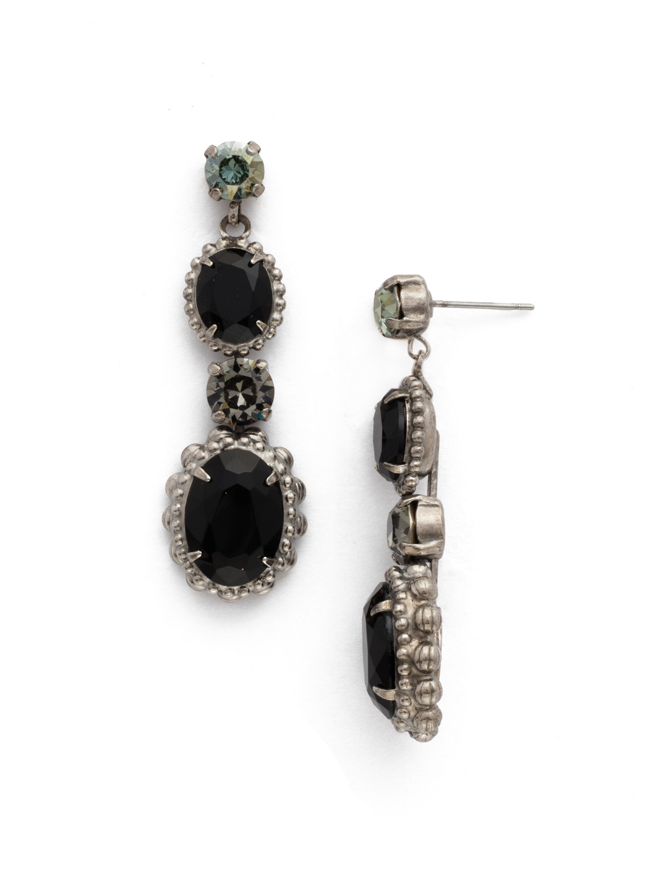 cbe12c1f96fc97 Camellia Drop Earring - Clearance in Black Onyx | Sorrelli Jewelry