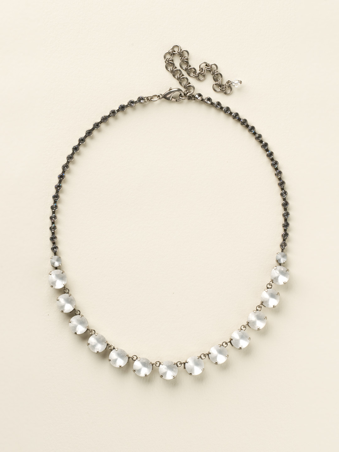 Repeating Rivoli Classic Line Necklace Clearance In
