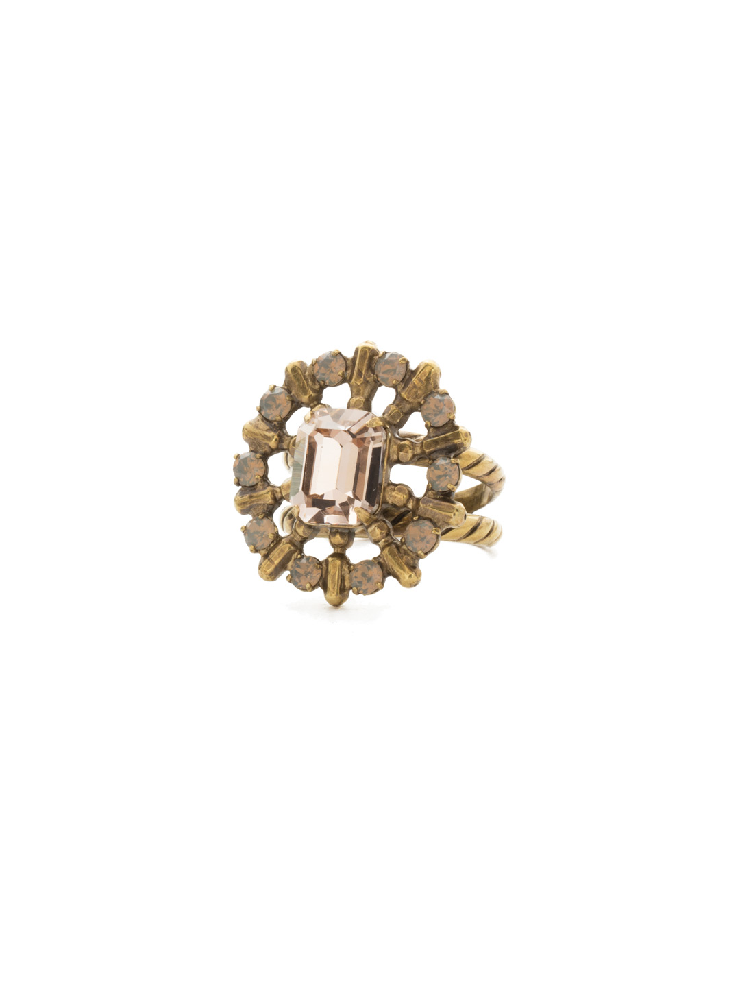 Fashion Jewelry Bold Pride Brooch Set In A Goldtone Finish