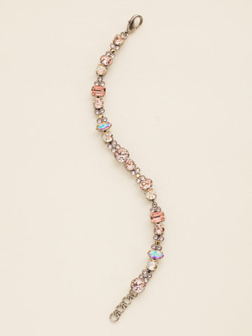Classic Clover Bracelet in Antique Silver-tone Sand Dune