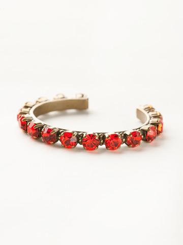 Riveting Romance Cuff Bracelet Cuff Bracelet in Antique Gold-tone Hyacinth