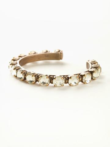 Riveting Romance Cuff Bracelet Cuff Bracelet in Antique Gold-tone Jonquil