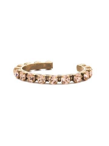 Riveting Romance Cuff Bracelet Cuff Bracelet in Antique Gold-tone Light Peach