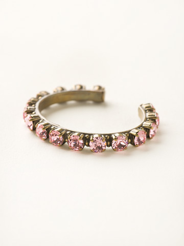 Riveting Romance Cuff Bracelet Cuff Bracelet in Antique Gold-tone Light Rose