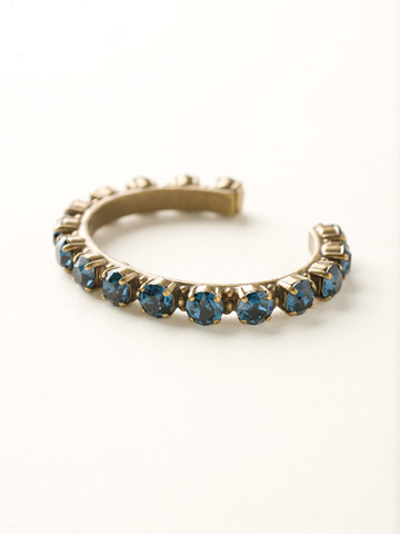 Riveting Romance Cuff Bracelet in Antique Gold-tone Montana
