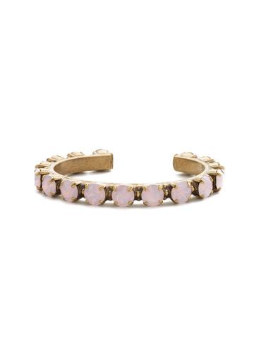 Riveting Romance Cuff Bracelet Cuff Bracelet in Antique Gold-tone Rose Water