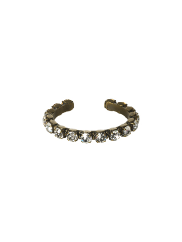 Riveting Romance Cuff Bracelet Cuff Bracelet in Antique Gold-tone Stardust