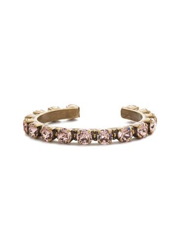 Riveting Romance Cuff Bracelet Cuff Bracelet in Antique Gold-tone Vintage Rose
