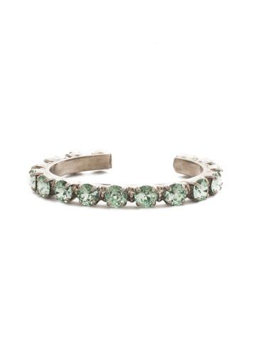 Riveting Romance Cuff Bracelet Cuff Bracelet in Antique Silver-tone Mint