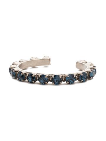 Riveting Romance Cuff Bracelet in Antique Silver-tone Montana