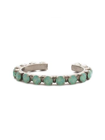 Riveting Romance Cuff Bracelet Cuff Bracelet in Antique Silver-tone Pacific Opal