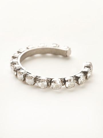 Riveting Romance Cuff Bracelet Cuff Bracelet in Antique Silver-tone Silver Shade