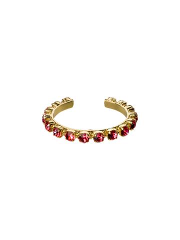 Riveting Romance Cuff Bracelet Cuff Bracelet in Bright Gold-tone Coral Reef