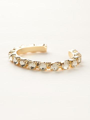 Riveting Romance Cuff Bracelet Cuff Bracelet in Bright Gold-tone Jonquil