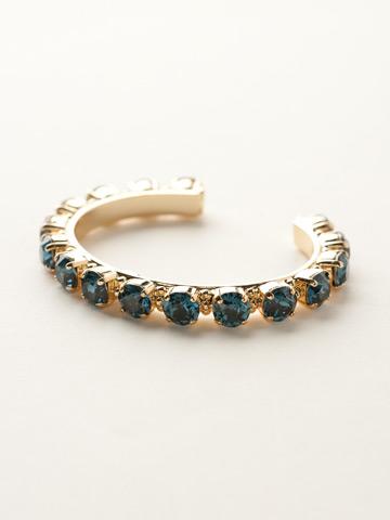 Riveting Romance Cuff Bracelet Cuff Bracelet in Bright Gold-tone Montana