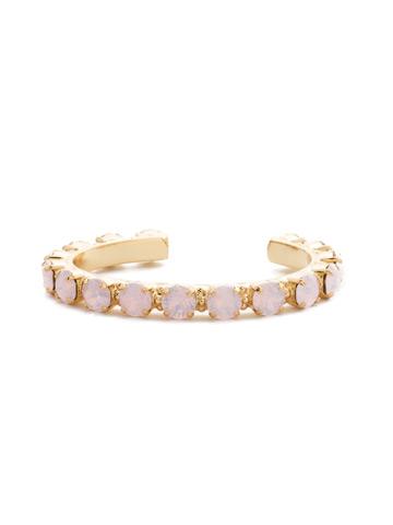 Riveting Romance Cuff Bracelet Cuff Bracelet in Bright Gold-tone Rose Water