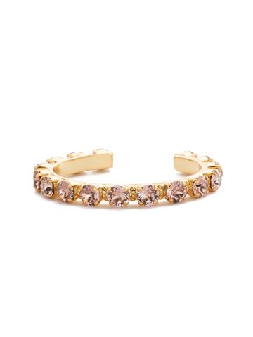 Riveting Romance Cuff Bracelet Cuff Bracelet in Bright Gold-tone Vintage Rose
