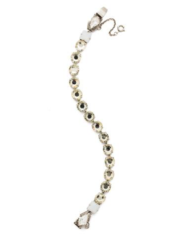 Belle of the Ball Bracelet in Antique Silver-tone Lemon Zest