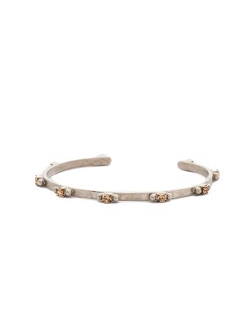 Circlet Cuff Bracelet in Antique Silver-tone Mirage
