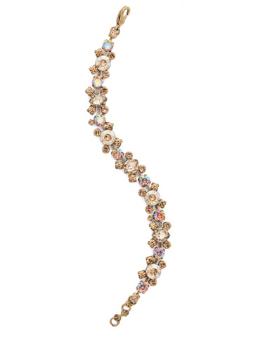 Perfect Harmony Bracelet in Antique Gold-tone Neutral Territory