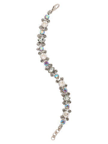 Perfect Harmony Bracelet in Antique Silver-tone Crystal Rock