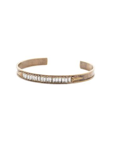 Band Together Bracelet in Antique Gold-tone Crystal