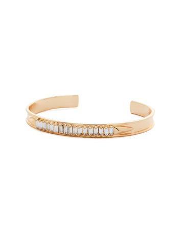 Band Together Bracelet in Bright Gold-tone Crystal