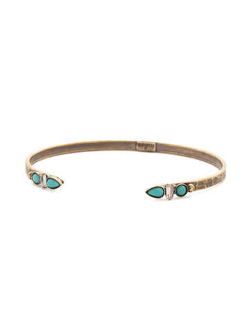 Tinley Bracelet in Antique Gold-tone Azure Allure