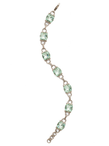 Eyelet Line Bracelet in Antique Silver-tone Mint