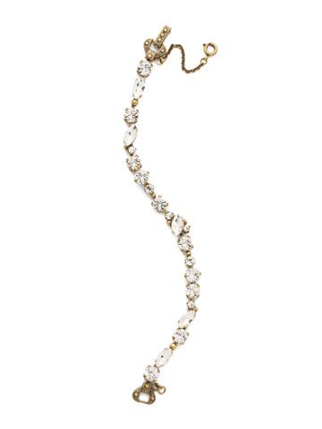 Modern Muse Bracelet in Antique Gold-tone Crystal