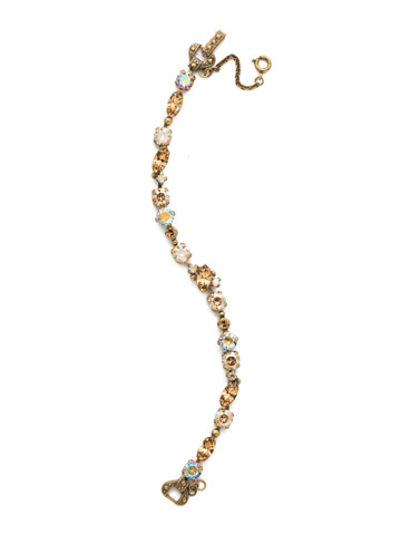 Modern Muse Bracelet in Antique Gold-tone Neutral Territory