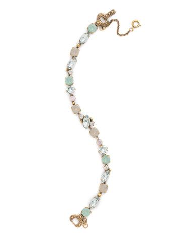 Modern Muse Bracelet in Antique Gold-tone Washed Pastel