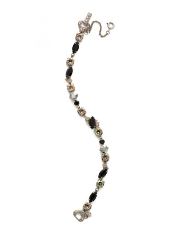 Modern Muse Bracelet in Antique Silver-tone Black Onyx