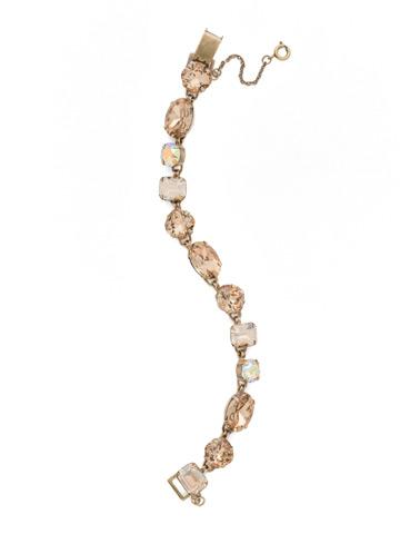 Soft Silhouette Classic Line Bracelet in Antique Gold-tone Neutral Territory