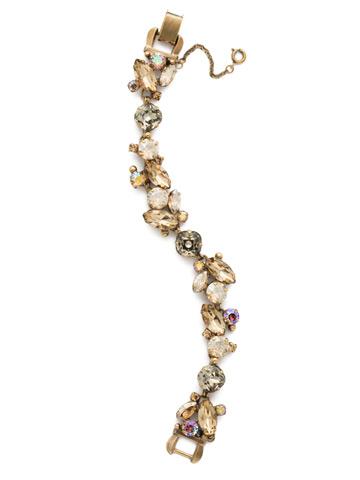 Radiant Vine Bracelet in Antique Gold-tone Neutral Territory